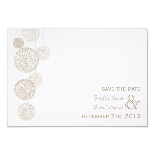 Globos de la guita que casan reserva la fecha invitaciones personalizada
