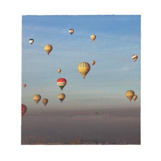 Globos del aire caliente, Cappadocia Bloc De Notas
