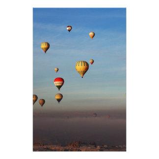 Globos del aire caliente, Cappadocia Papelería De Diseño