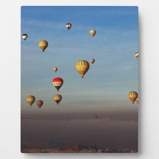 Globos del aire caliente, Cappadocia Placas Con Foto