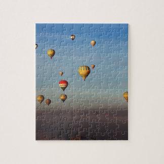 Globos del aire caliente, Cappadocia Puzzle