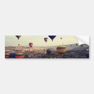 Globos del aire caliente de Cappadocia Turquía Pegatina Para Auto