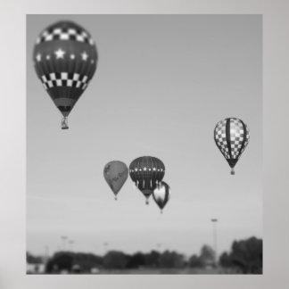 Globos del aire caliente, Fest del globo, Olathe,  Posters