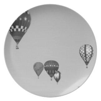 Globos del aire caliente, Fest del globo, Olathe,  Platos