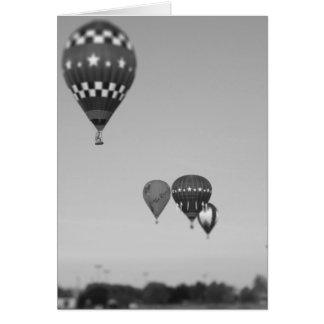 Globos del aire caliente, Fest del globo, Olathe, Tarjeta De Felicitación