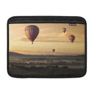 Globos del aire caliente funda para macbook air