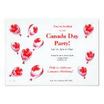 Globos del día de Canadá Anuncios Personalizados