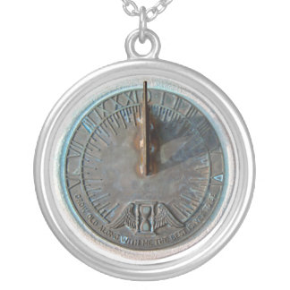 Globos del duendecillo - reloj de sol colgante redondo