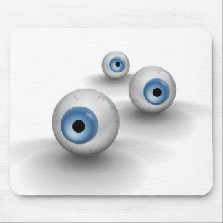 globos del ojo alfombrillas de ratones