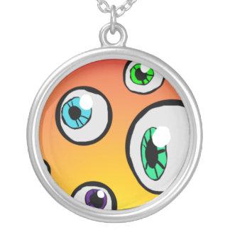Globos del ojo colgante redondo