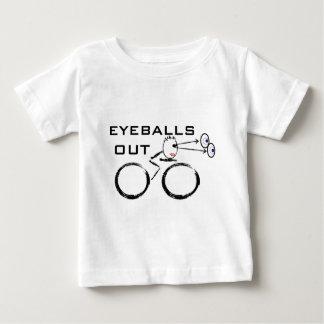 Globos del ojo de ciclo hacia fuera camisetas