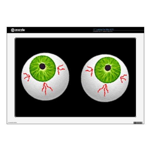 Globos del ojo de Halloween Skins Para 43,2cm Portátiles