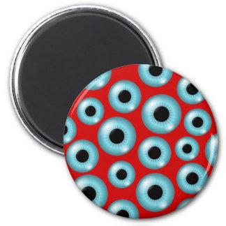Globos del ojo imán redondo 5 cm