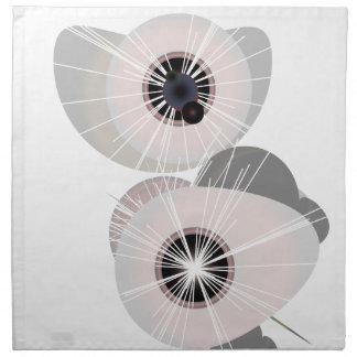 Globos del ojo servilleta de papel