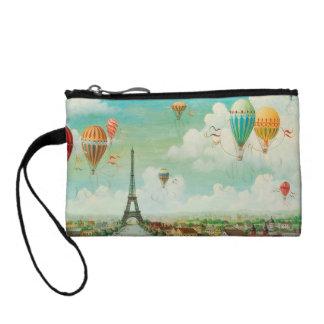 Globos del vintage de PixDezines sobre París
