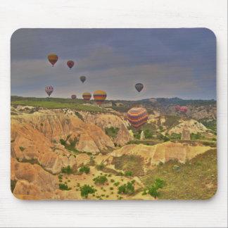 Globos en Cappadocia Alfombrilla De Ratón
