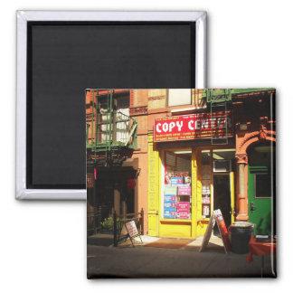 Globos en el East Village New York City Imán De Nevera