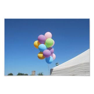globos impresiones fotográficas