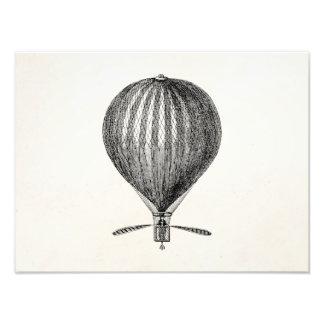 Globos retros del dirigible del globo del aire cal foto