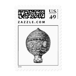 Globos retros del gas del dirigible del globo del sellos