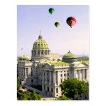 Globos sobre el PA de Harrisburg Tarjeta Postal