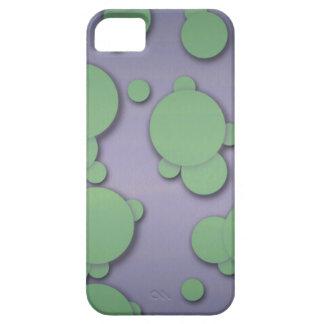 Globs verdes iPhone 5 fundas
