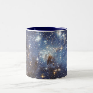 Globular Cluster LH 95 Two-Tone Coffee Mug