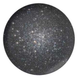 Globular Cluster M72 Stars Space Dinner Plate
