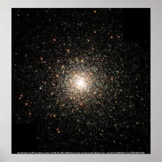 Globular Cluster M80 Poster