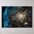 Globular Cluster NGC 1850 Poster