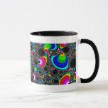 Globular Rainbow - Fractal Mug