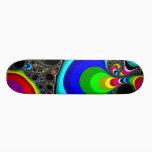 Globular Rainbow - Fractal Skateboard