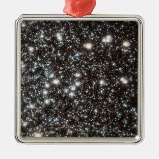 Globular Star Cluster 47 Tucanae Metal Ornament