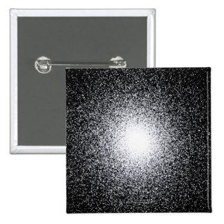 Globular Star Cluster in Space Pinback Button