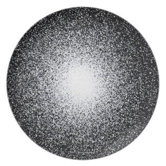 Globular Star Cluster in Space Dinner Plate