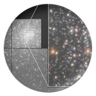 Globular Star Cluster M15 Party Plate