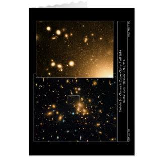 Globular Star Clusters Galaxy Cluster Abell 1689 Card