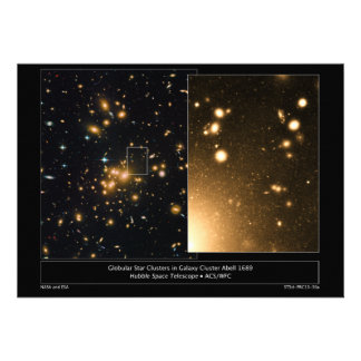 Globular Star Clusters Galaxy Cluster Abell 1689 Invitation