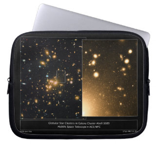 Globular Star Clusters Galaxy Cluster Abell 1689 Laptop Sleeve