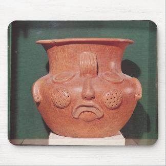 Globular vase with a face, from Kalminaljuy Mousepads