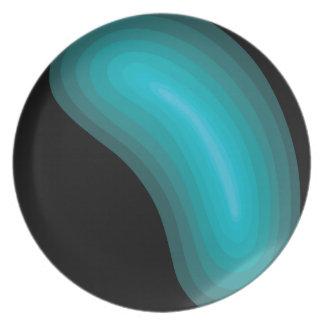 Globules Aqua Plate
