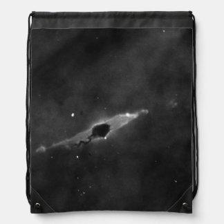 Glóbulo oscuro y jet estelar en la nebulosa de mochilas