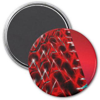 Glóbulo rojo imán redondo 7 cm