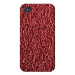 Glóbulos rojos iPhone 4 carcasas