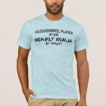 Glockenspiel Deadly Ninja by Night T-Shirt