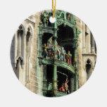 glockenspiel del rathaus de los neues de Munich Adorno Para Reyes