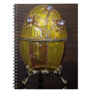 Gloden Garden Egg Notebook