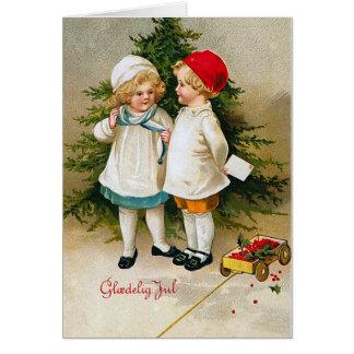 """Gloedelig Jul"" Greeting Card"