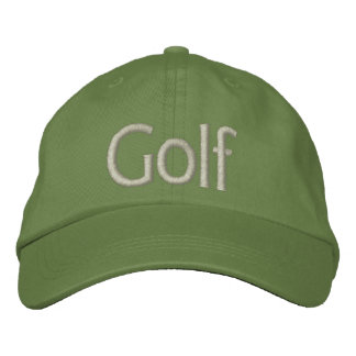 Glof Hat Embroidered Baseball Cap