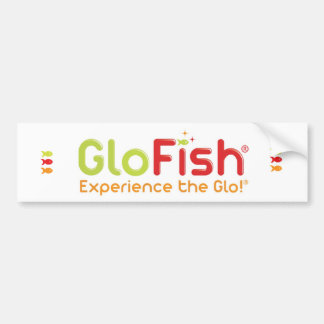 GloFish® Bumper Sticker Car Bumper Sticker